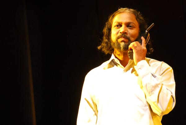 Ashok playing a doctor in Ibsen's Enemy of the People