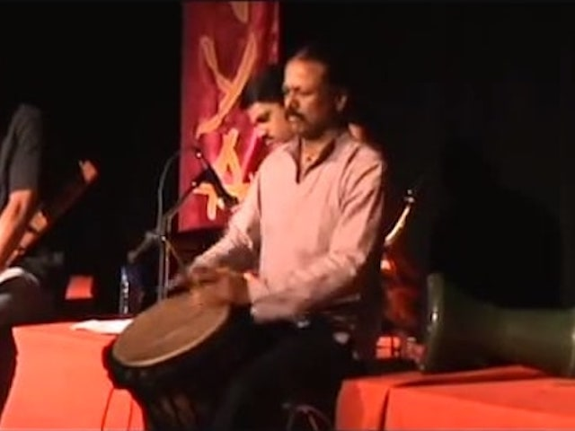 Solo jembe performance by Ashok-video